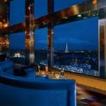 Le bar panoramique lors de ma première visite