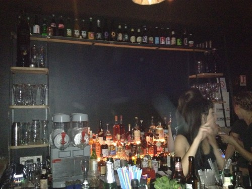 Le bar du Glass