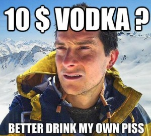 vodka pisse