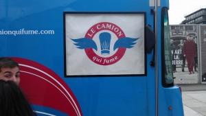 Logo du camion qui fume