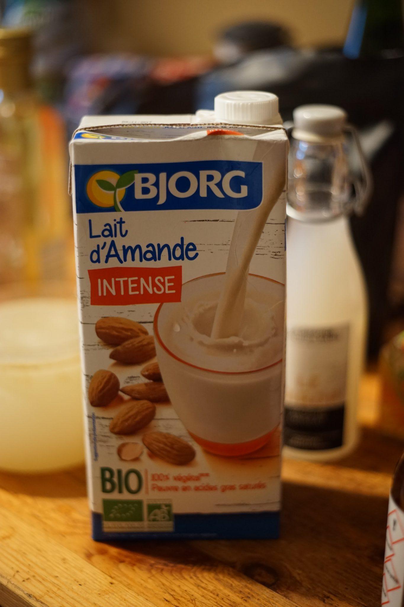 bjorg lait d'amande