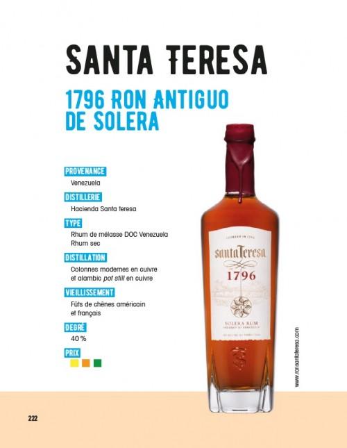 Santa Teresa 1796, rhum du Venezuela comme le célèbre Diplomatico !