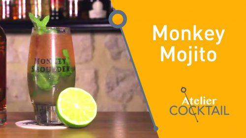 le mojito au monkey shoulder
