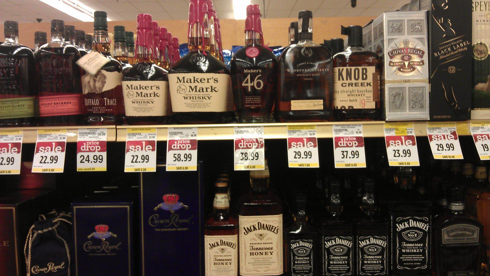Visite au supermarché  : USA vs France