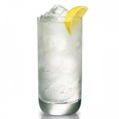 Un verre de gin fizz