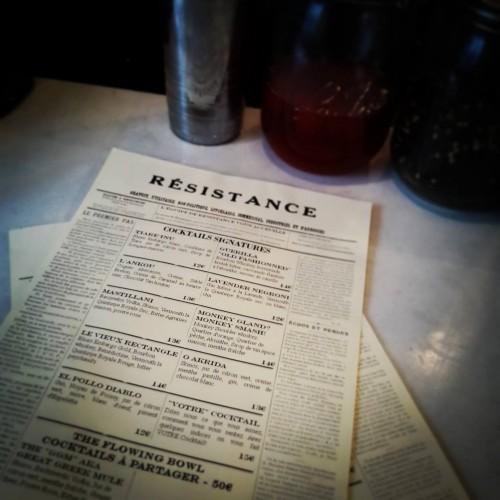 El menu