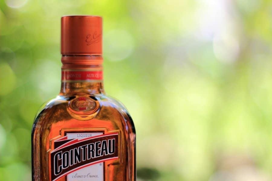 La fameuse bouteille carrée de Cointreau