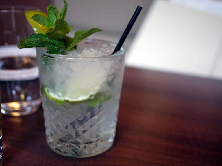 Un magnifique verre de Mojito