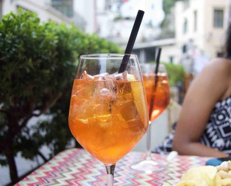 Un verre d'Aperol Spritz, le Spritz Original !
