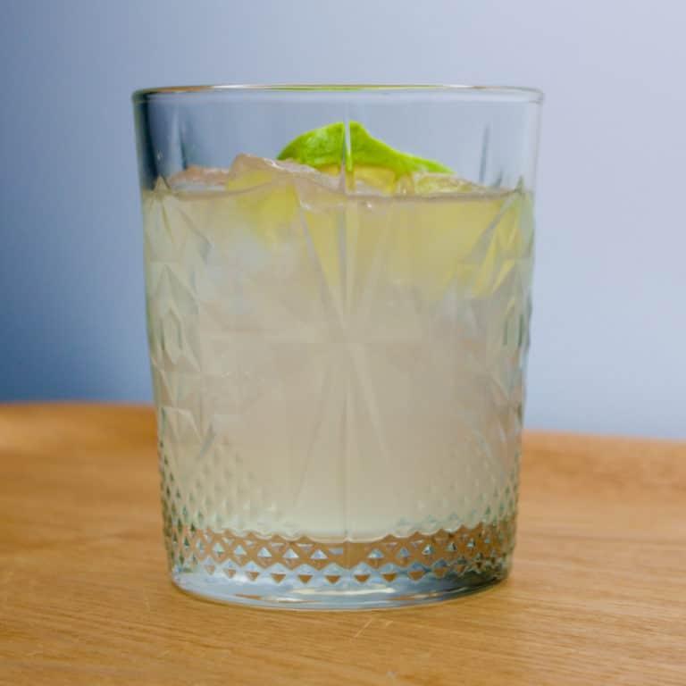 Une Tommy's Margarita, une margarita avec de l'agave à la place du Cointreau